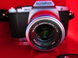 EM-D 45mm lenses
