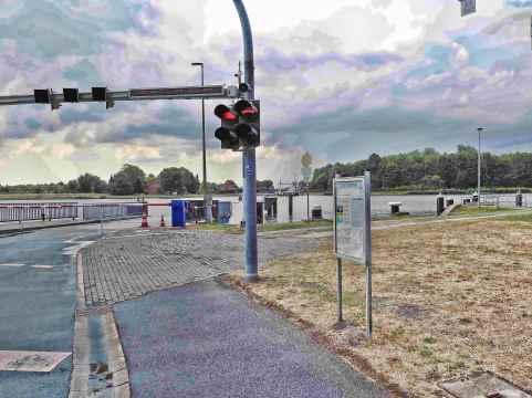 traffic lights...